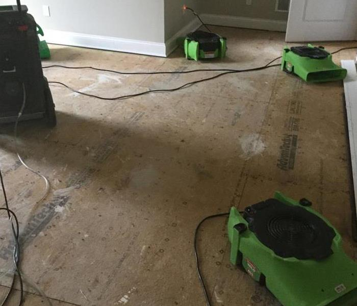 Water Damage Busted Pipe creates Havoc in New Haven, KY