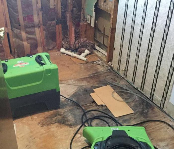 Water Damage Leaky Line causes major damage in Shepherdsville, KY Home